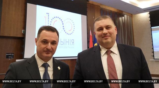 Виорел Мошану и Олег Кравченко