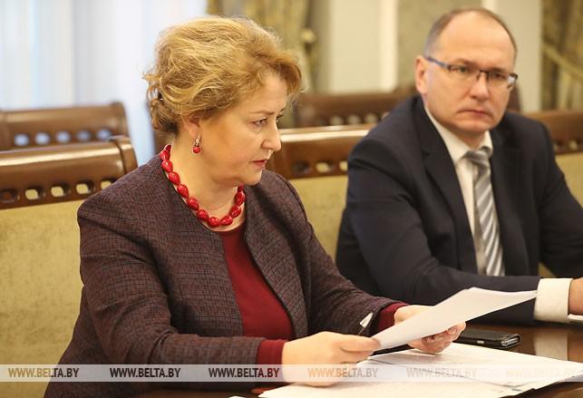 Заместитель министра образования Раиса Сидоренко