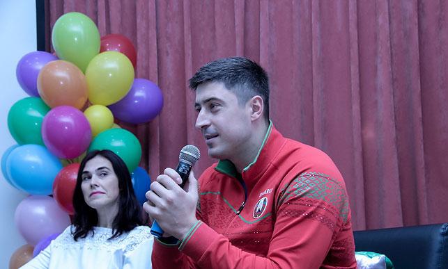 Олимпийский чемпион Андрей Богданович