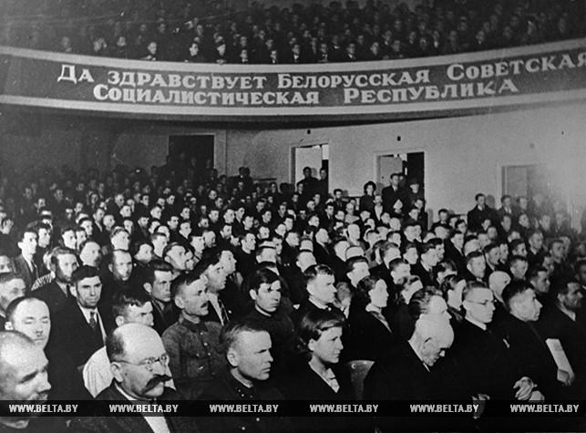 Во время заседания собрания Западной Беларуси