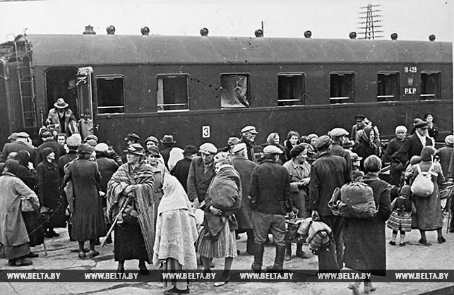 Возвращение беженцев в родные места