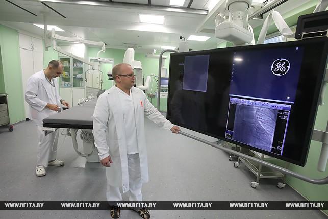 В Гомельском областном клиническом кардиоцентре