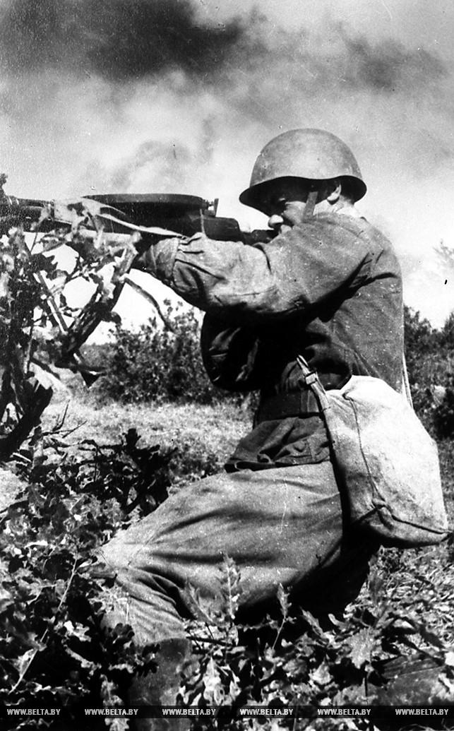 В бою под Минском. Июнь 1941 года