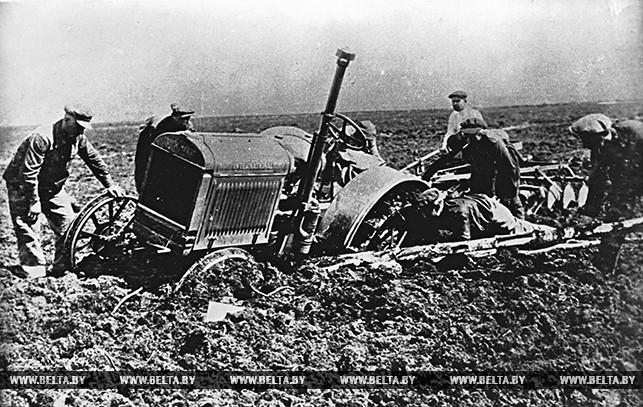 Освоение болот. 1929 год