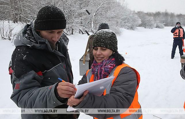 Секретарь соревнований Людмила Пилигузова