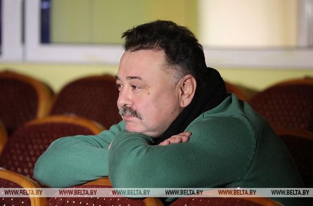 Художественный руководитель Гомельского облдрамтеатра Сергей Лагутенко
