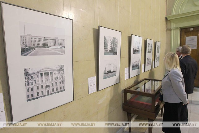 100-летие со дня рождения заслуженного архитектора БССР М.Бакланова отметили в Национальном художественном музее, февраль 2014 года