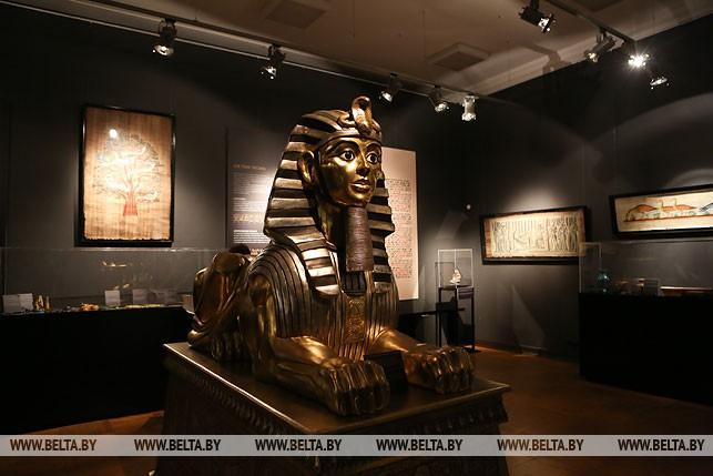 """Национальный художественный музей приглашает на выставку """"Сокровища Древнего Египта"""", сентябрь 2017 года"""