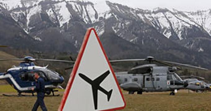 Крушение самолета Germanwings во Франции
