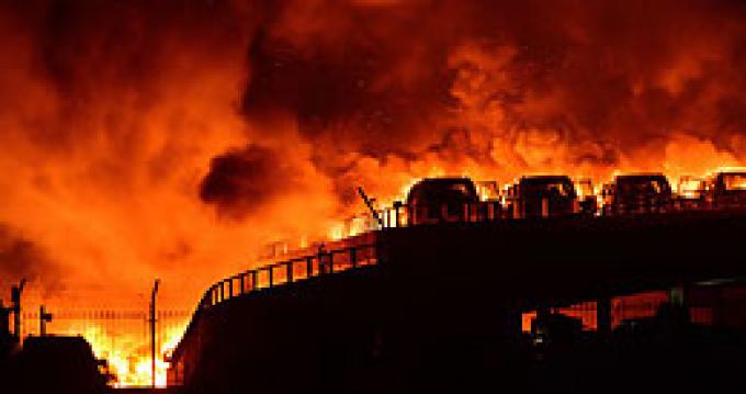 Взрыв в китайском Тяньцзине