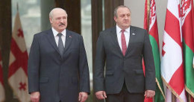 Официальный визит Александра Лукашенко в Грузию