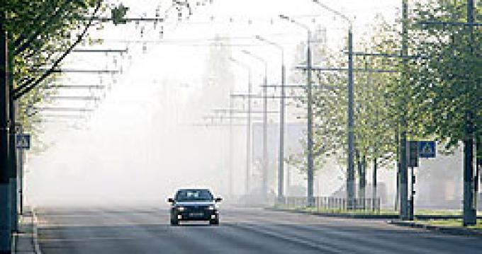 Обстановка на автодорогах Беларуси