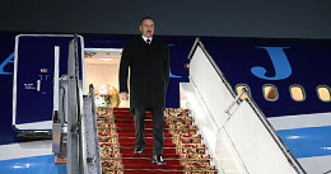 Официальный визит Ильхама Алиева в Беларусь