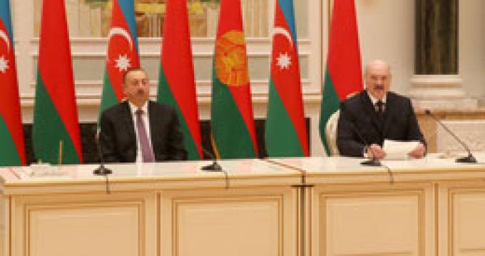 Официальный визит Лукашенко в Азербайджан