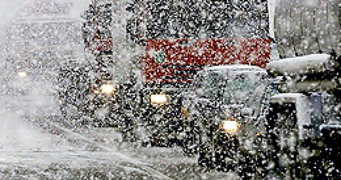 Снегопады в Беларуси