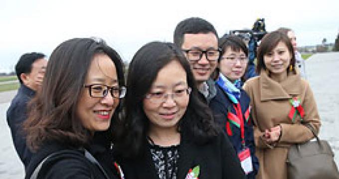 Пресс-тур журналистов китайских СМИ в Беларуси