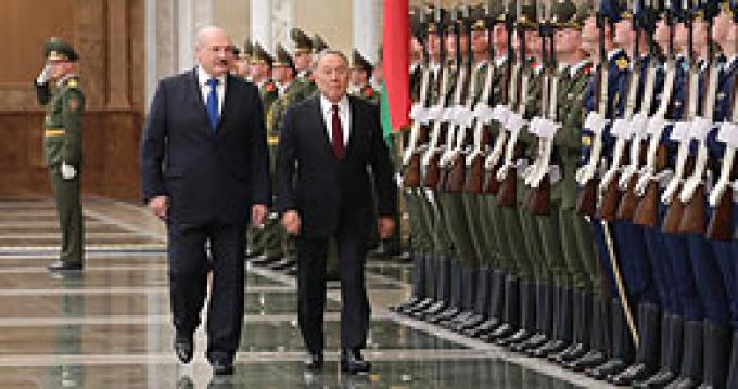 Официальный визит Назарбаева в Беларусь