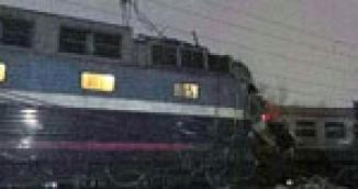 Столкновение поезда Москва-Брест и электрички в Москве