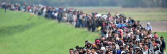 Наплыв мигрантов в Европу