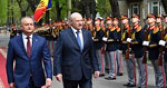 Официальный визит Лукашенко в Молдову