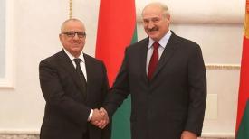 Смаил Аллауа и Александр Лукашенко