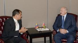 Рафаэль Корреа Дельгадо и Александр Лукашенко