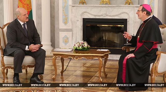 Александр Лукашенко и Клаудио Гуджеротти