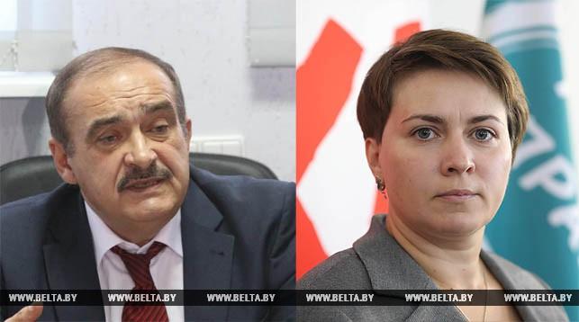 Сергей Гайдукевич и Татьяна Короткевич