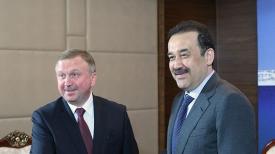 Встреча Андрея Кобякова и Каримом Масимовым
