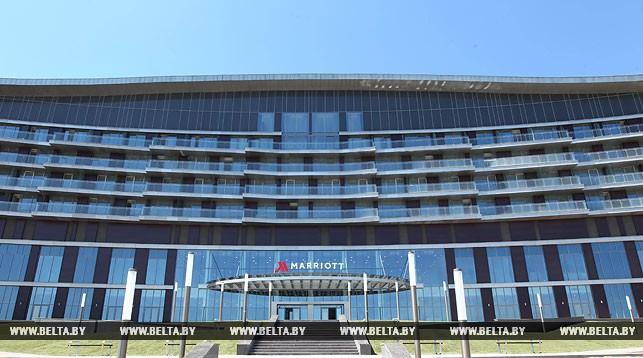 Строящийся отель