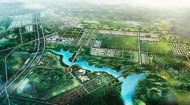 """План индустриального парка """"Великий камень"""""""