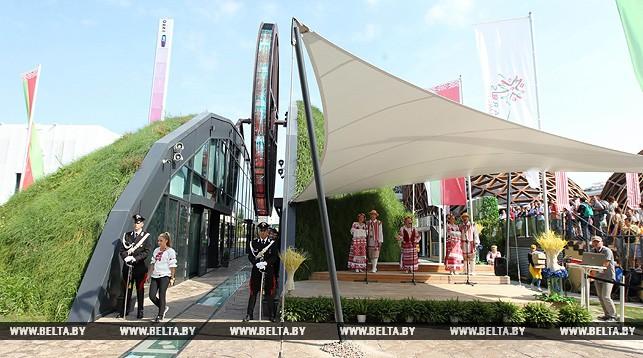 """Национальный павильон Беларуси на """"ЭКСПО-2015"""" в Милане"""