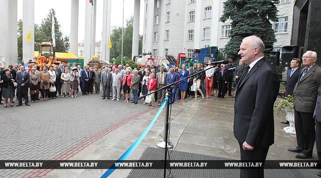 Владимир Гусаков на открытии выставки-ярмарки