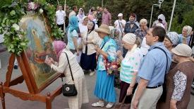 Празднование Успения Пресвятой Богородицы в Витебске.