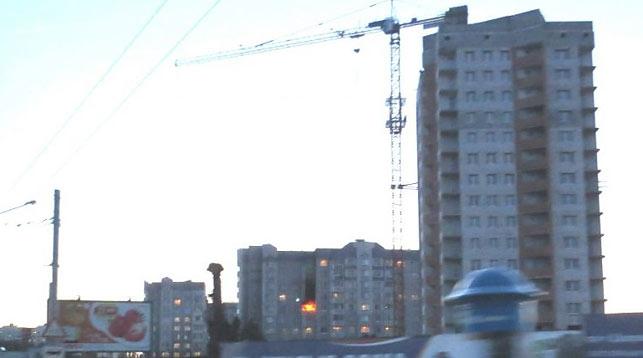 Пожар на Гурского. Фото МЧС