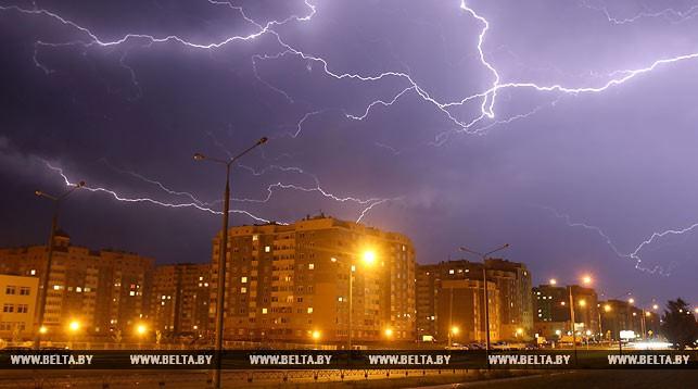 В Брестской области из-за молнии произошло 6 пожаров