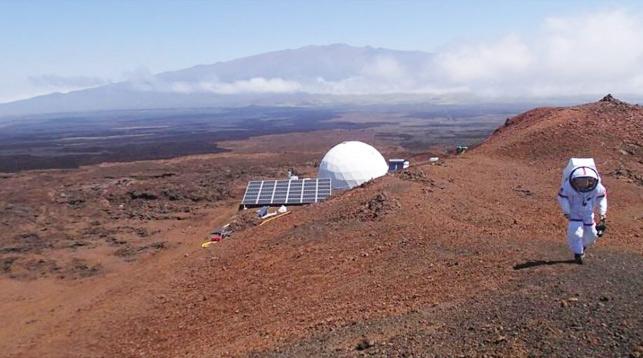 На склоне спящего вулкана Мауна-Лоа