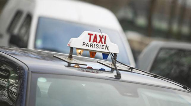 Забастовка таксистов во Франции