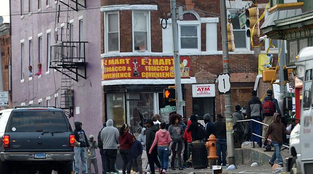Американский Балтимор охвачен беспорядками. Фото Синьхуа - БелТА