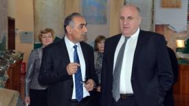 Шамсуддин Орумбекзода и Василий Черник