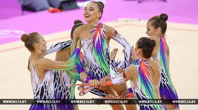 Выступление сборной Беларуси. Фото из архива