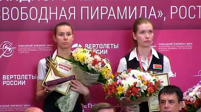 Екатерина Перепечаева и Александра Гизельс