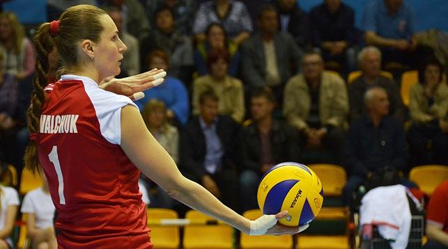 Капитан сборной Беларуси по волейболу Оксана Ковальчук