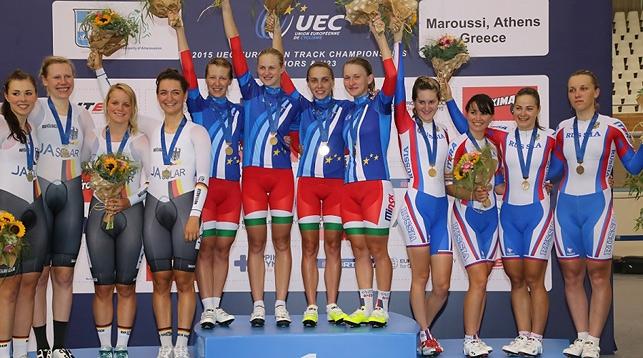 Золото белорусских велогонщиц