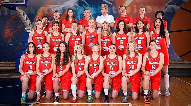 Женская сборная Беларуси на топ-турнирах . Фото с сайта БФБ