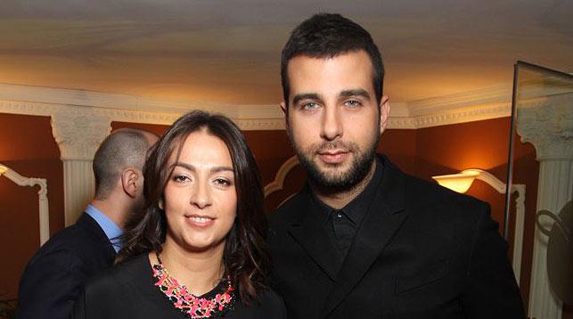 Иван Ургант и Наталья Кикнадзе. Фото viva
