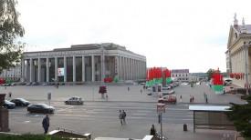 Октябрьская площадь. Фото из архива