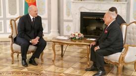 Александр Лукашенко и Тамаш Аян