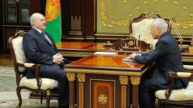 Александр Лукашенко и Григорий Рапота