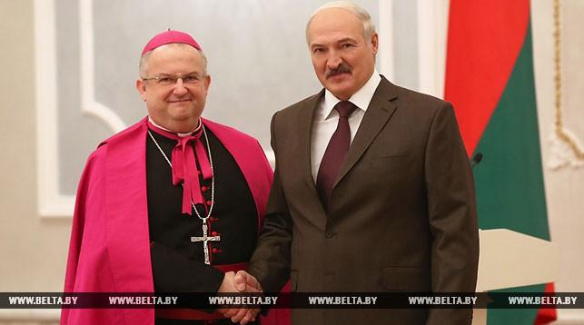 Габор Пинтер и Александр Лукашенко